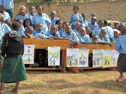 an UMUSEKE event in Rwanda